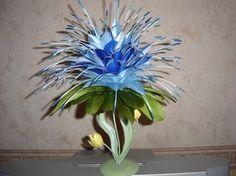 Fleurs en plumes d'oie 2004