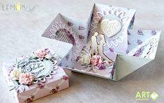 Exploding box for wedding - Scrapbook.com