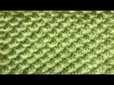 Тунисская сеточка - тунисское вязание - узор 13 - Tunisian crochet - YouTube