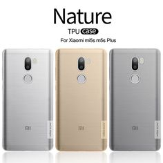 Xiaomi Mi5s M5s plus TPU Case NILLKIN Ultra Thin Transparent Nature Silicone Case For Xiaomi 5s 0.6mm Clear Soft Cover m5s #Affiliate