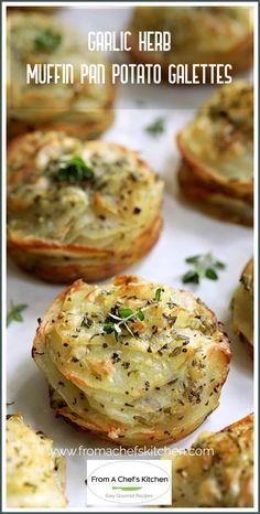 Side Dish Recipes, Gourmet Recipes, Vegetarian Recipes, Dinner Recipes, Great Recipes, Cooking Recipes, Favorite Recipes, Muffin Pan Recipes, Best Potato Recipes