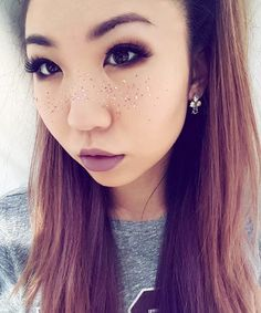 Galaxy freckles are amazing, but have you ever seen glitter freckles? Here's the deal on this Insta-famous beauty trend.