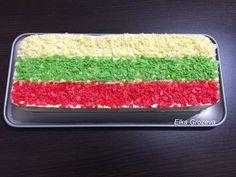 """Elij-Cooking: Торта""""Българско знаме"""""""