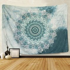 Indian Mandala Tapestry Wall Hanging Flower Psychedelic Tapestry Bohemian Tapestry for Living Room Bohemian Tapestry, Mandala Tapestry, Bohemian Decor, Bohemian Style, Mandala On Wall, Colorful Tapestry, Tapestry Beach, Bohemian Homes, Hippie Bohemian