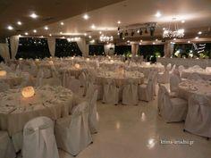 Η αίθουσα Φαιστός στο κτήμα Αριάδνη, έτοιμη για δεξίωση γάμου