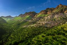 Oramanat Takht Village - Marivan - Iran