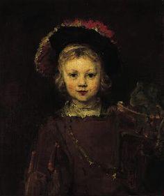 Rembrandt van Rijn  - Portrait of a Boy