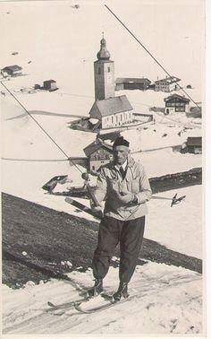 Nostalgische Gefühle ... Skilift fahren anno dazumal :) Skilift, S Ki Photo, Ski Card, Ski Wedding, Ski Accessories, Ski Posters, Ski Slopes, Ski Holidays, Ski Boots