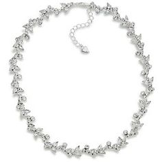 The Avery Floral Crystal Necklace