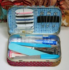 Repurposed Altoid Tin What if Kit Emergency Repair by Oblations