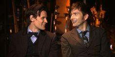 matt smith | Doctor Who: Matt Smith e David Tennant parlano dell'addio alla serie ...