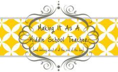 A Day in the Life of a Classroom Teacher: Classroom Tour 2nd Grade Teacher, Fourth Grade, Fabric Postcards, Middle School Teachers, Guided Math, Teacher Blogs, Student Teacher, School Counselor, Elementary Counseling