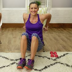 The Lazy Girl's Arm Workout can do it while sitting on the couch or watching tv
