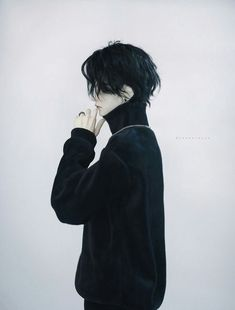 Is he an anime or reality? Pelo Ulzzang, Cosplay, Grunge Hair, How To Draw Hair, Boy Art, Pretty People, Cute Boys, Character Inspiration, My Hair