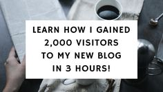For a new blog, getting traffic is rather difficult as you can't rely on search engine traffic for the first few months. One method of gaining traffic is by using Pinterest, which by now I'm sure most of you are already using. If you have not used Pinterest to bring traffic to your blog, you …