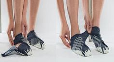 Vibram Furoshiki Shoes Wrap Around your Feet for the Best Fit