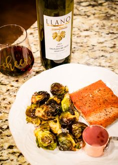 Recipe: Salmon with Red Wine Butter Sauce   Date night salmon recipes   Cooking with wine   Llano  Estacado #ad