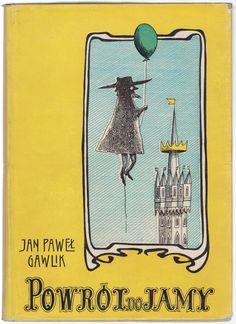 'Powrót do Jamy', Kraków cover by Daniel Mróz Polish Posters, Krakow, Book Covers, Poland, Illustrators, Magazines, Graphic Design, Reading, Books