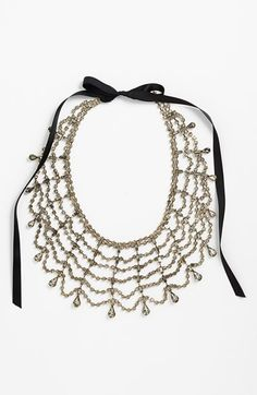Free shipping and returns on Tasha Sparkling Web Collar at Nordstrom.com. A lacy, crystal-web collar spins ladylike sparkle across your evening-out ensembles.
