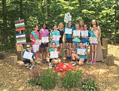GSNNJ Girl Scout Troop 65816 earned their Bronze Award by creating a Butterfly Garden.