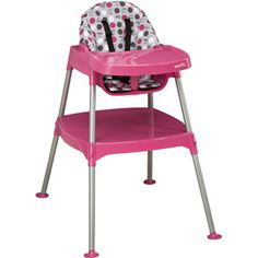 Evenflo - Convertible High Chair, Dottie Rose