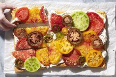 Recipe: 15-Minute Fresh Tomato and Feta Tart — Tomato YOLO