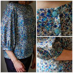 Pauline's pretty Mathilde blouse