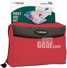 Lifeline Wilderness 110-piece First Aid Kit