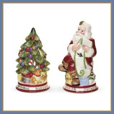 Another great find on Spode Santa & Christmas Tree Salt & Pepper Shakers by Spode Christmas Tree And Santa, Spode Christmas Tree, Christmas Dishes, Christmas Holidays, Christmas Decorations, Xmas, Christmas Dinnerware, Christmas Ideas, Table Decorations