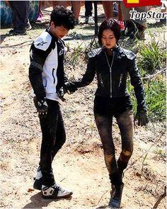 Song Joong Ki❤️ cuteness overload #ChaeKi couple❣❤️❣