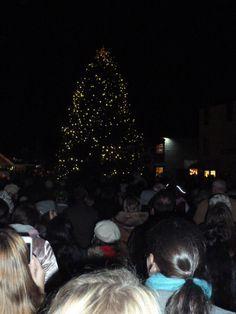 Newport Christmas Tree Lighting 2012