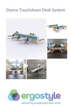 With the Stance Touchdown Desk System, your team can enjoy a more natural way of working. add unassigned workstations to your workspace. Office Art, Office Decor, Home Office, Office Interiors, Workplace, Natural Beauty, Desk, Shape, Contemporary