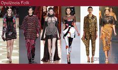 Recipiente Moda: Tendências Inverno 2014 - Senac - Opulência Folk