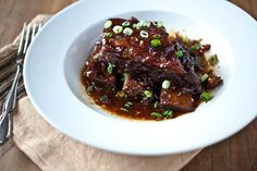 Still Here with Ale-Braised Mustard-Glazed Short Ribs