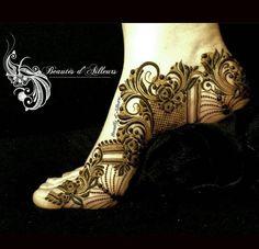 393 Best Arabic Leg Henna Images Mehndi Art Mehendi Henna Mehndi