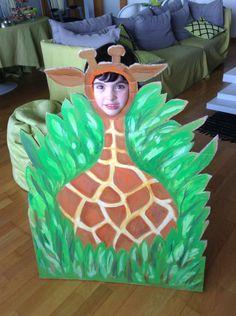 A girafa feita pela avô Paula