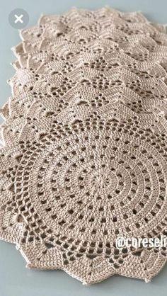 Pattern crochet coasters, Coffee Time Doily, Tea time Crochet Doilies, crochet rug pattern, hygge home decor (tutorial PDF file) Beau Crochet, Crochet Doily Rug, Crochet Placemats, Crochet Pillow Pattern, Crochet Dollies, Crochet Doily Patterns, Crochet Round, Crochet Squares, Crochet Flowers