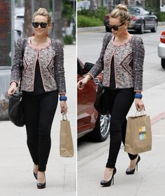 hilary duff clothes style | Hilary Duff Looks Casually Cool in Beverly Hills - Hilary Duff ...