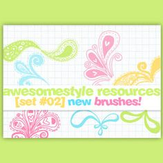 awesomestyle brushes - Photoshop brushes
