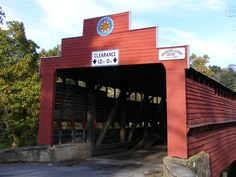 Dreibelbis Station Covered Bridge in Pennsylvania - want to go again!!