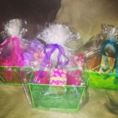Easter/spring gift baskets (can be made to your liking)