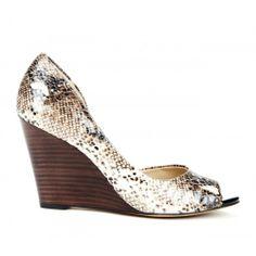 Brita dorsay wedge shoe.