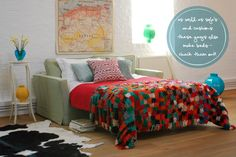 Colour Up With Sofas, Beds and Cushions!
