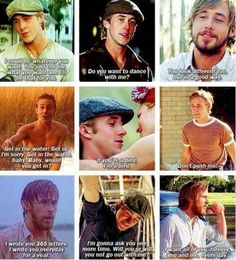 The Notebook: Noah quotes