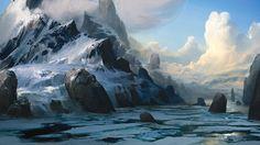#гора#лед