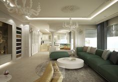 Living Room design ideas. Project by Ozgur Dogan. Dom Mimarlik Studio. Kardelen Residence /Antalya/ Turkey