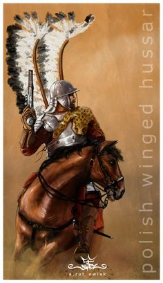 Role of Serbian medieval cavalry in formation of Polish hussars Military Art, Military History, Medieval, Poland History, Art Of Fighting, My Family History, Modern Warfare, Fiction, Wings