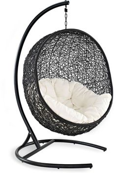 Modway Outdoor Cocoon Patio Swing Chair