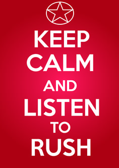 RUSH, the best progressive rock band ever!!!