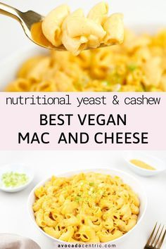 This Is The Best Vegan Mac And Cheese Recipe Because It Is Creamy Satisfying Quick And Als In 2020 Vegan Mac And Cheese Dairy Free Mac N Cheese Paleo Mac And Cheese
